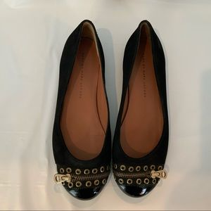 Marc Jacobs Zipper Toe flats size 8